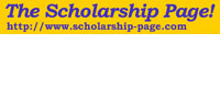The Scholarship Page! logo